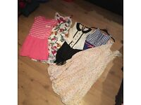 10-11 year old girls clothes job lot bundle 15 items