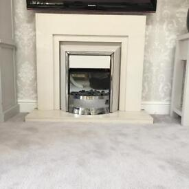 Marble fire surround SOLD
