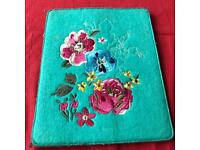 Paper chase flower tablet case.