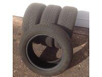 4 winter tyres