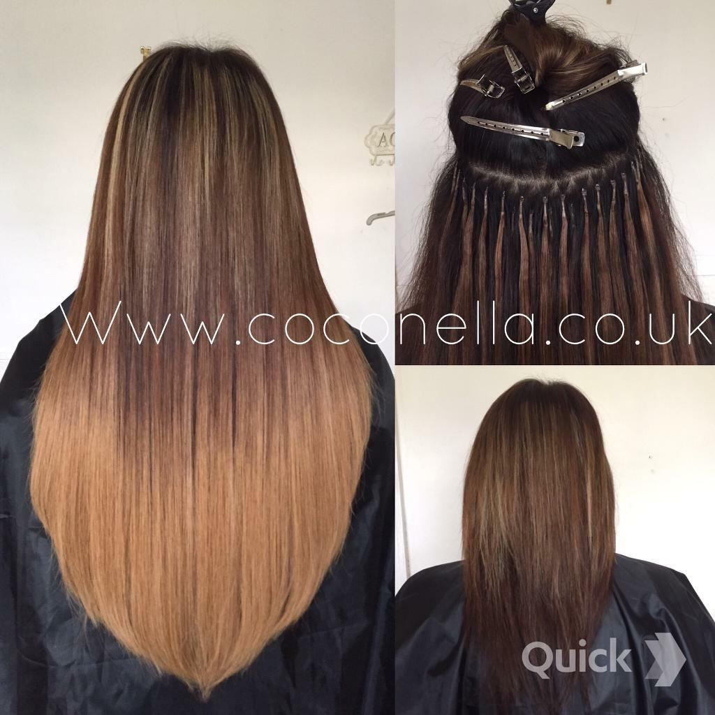 Nano ring hair extensions in london hair extensions wig russian brazilian indian virgin remy micro nano rings hot fusion mobile hair extensions from 140 pmusecretfo Image collections