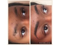 Microblading by professional permanent make up artist