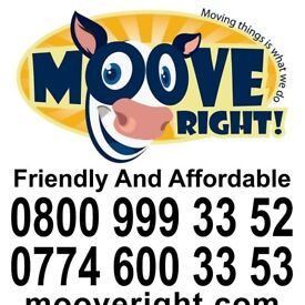 0800 Removals - Man and Van - From £20ph!!!