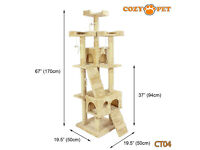 giant cat tree. £35. bargain. would be about £100 in pets at home :) cat scratcher.