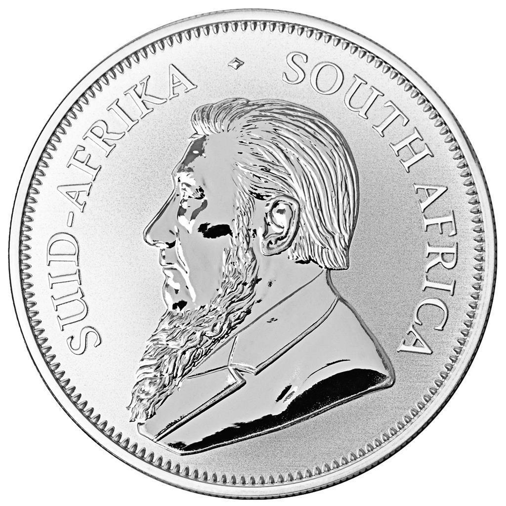 Südafrika - 1 Rand 2018 - Krügerrand Anlagemünze - 1 Oz Silber ST