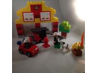 Duplo 6138 my first fire station lego