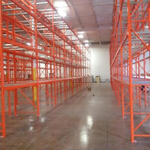 Pallet Racking, Industrial Shelving, Cantilever Rack, Mezzanine Platforms, Guardrail and Other Warehouse Equipment Sales