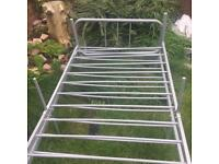 2 x single bed frames