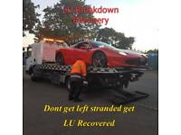 LU Breakdown Recovery and Towing service cars vans bikes