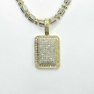 3.06CT DIAMOND PENDANT IN 10K GOLD