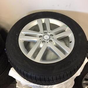 """19"""" Mercedes GL Winter wheels and tires w/ Pirelli Scorpion Winter GL350 GL450 GL550"""
