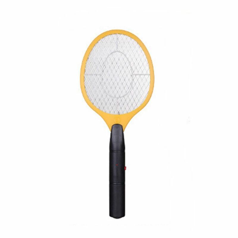 Handheld Battery Fly Swatter Mosquito Racket Swatter Electric Pest Control Hot