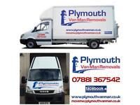 Plymouth Van Man Removals, Man And Van Hire