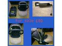 Silver cross isofix and car seat