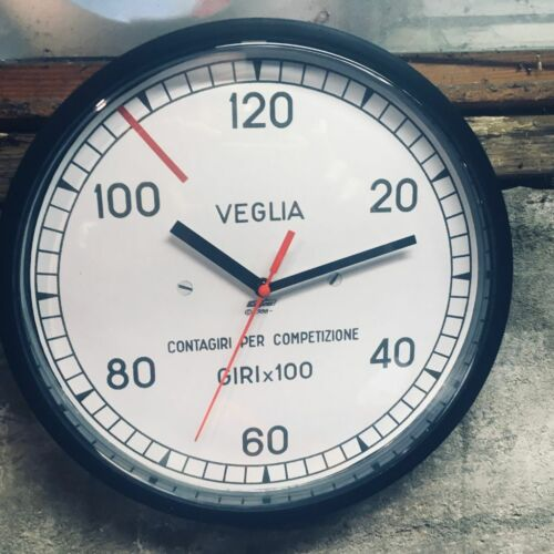 BLACK shop clock Veglia Contagiri per Competizione: DUCATI/GUZZI/FERRARI/ALFA