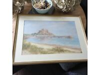 Diana Bowen framed painting