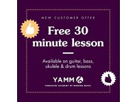 Yorkshire Academy of Modern Music GUITAR | UKULELE | BASS | DRUM TUITION Music Lessons