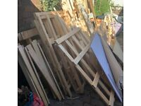Job Lot of Packaging Wood from Pallets
