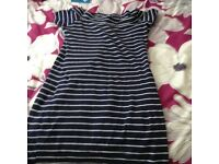 Ladies stripy top