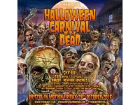 2 x The Blast Halloween Carnival Of The Dead Motion Tickets (£30 each)