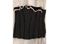 Ann Summers polka dot corset size 10/12