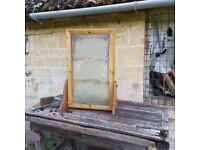 Vintage Bee Keeping Observation Demonstration Hive