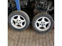 BMW Z3 alloy wheels 16 inch very good tires good condition