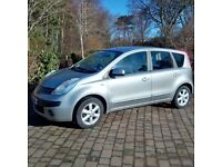 Nissan Note 1500 Diesel 2006, a very economical, practical MPV. Faultless
