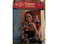 AQA GCSE CHEMISTRY TEXTBOOK - £1