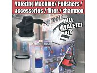 SEALEY PC310 VALET MACHINE & CARPET CLEANER / DETERGENT & ER150P