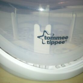 Baby tomme Tipee sterlizer, food /bottle warmer & new baby monitor