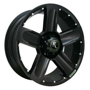 MAGS NEUFS  18'' 5 X 139.7 REMINGTON HIGH COUNTRY ALL SATIN BLACK (4 DE DISPONIBLES)