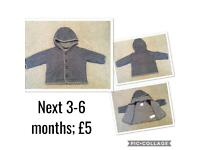 Assorted baby jackets and coats