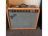 RARE!! FENDER Princeton 65 Reverb Reissue Valve guitar amp combo ORANGE!!