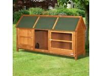 Brand new rabbit hutch guinea pig half price