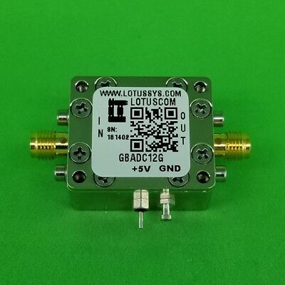 Gain Block Amplifier 4.3db Nf Dc12ghz 16db Gain 15dbm P1db Sma