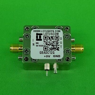 Gain Block Amplifier 4.3db Nf Dc12ghz 16db Gain 15dbm P1db Sma