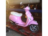 Vespa Piaggio, 7yrs old, 12 month MOT. Good condition. Also selling protective jacket and helmet.