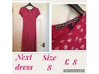 Ladies dress/ trousers/ top. Great condition . Size 6/8. Pet free home