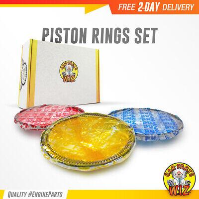 Piston Ring Set Fits 90-06 Volkswagen Beetle Cabrio 2.0L L4 DOHC SOHC 16v 8v Beetle Piston Ring Set