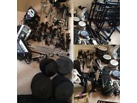 Selling Roland V Drums Electric Drum Kits - Inc. PD-80/85 TD-6/9/11 CY-8/12C/13R KD-9/85 Pedals/Rack