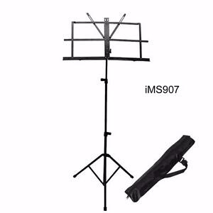 Music Stands portable, adjustable Metal sheet Tripod Heavy duty stands iMusicGuitar