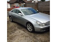 Mercedes CLS 320 CDI automatic in sliver