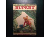 Rupert the Bear Annuals. Two colourful, good quality, early annuals dated 1971 and 1974