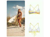 Gypsea bikini yellow NEW