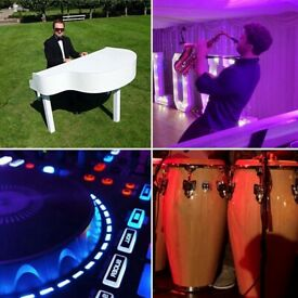 Pianist DJ | Ibiza Saxophone & Congas | Piano Shell |Top 40 Charts,Jazz,Pop,Bollywood,Classical,Film