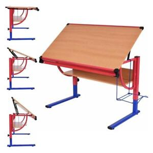 Adjustable Drafting Table Workstation Drawing Desk Art & Craft Hobby Studio New - BRAND NEW - FREE SHIPPING