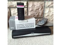 Sky+ box and 2 Sky routers 1 brand new in box