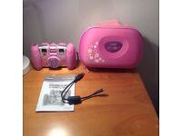 Vtech Kiddizoom twist pink camera + carry case
