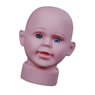 Child Infant Head Mannequin Part For Education 14.6 Inch